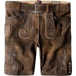 Stockerpoint Lederhose in Braun - 40% | Größe 48 | Herren Trachten Lederhosen
