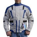 Blaue Motorradbekleidung für Herren