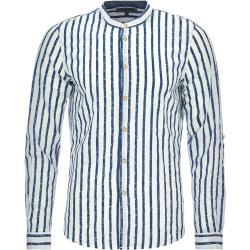 Tom Tailor Denim Hemd - Herren - weiß/blau gestreift