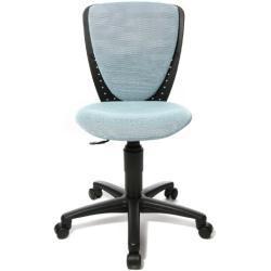 Topstar 70570BB30 High S'cool, Kinder- und Jugenddrehstuhl, Schreibtischstuhl für Kinder, Bezugsstoff hellblau