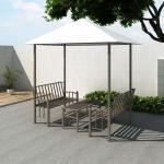 vidaXL Gartenpavillon mit Tisch und Bänken 2,5x1,5x2,4 m