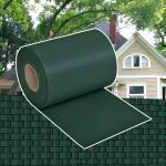 vidaXL Gartenzaun-Sichtschutz PVC 70×0,19 m Grün