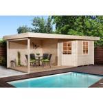 Moderne Weka Nachhaltige Gartenhäuser aus Fichte