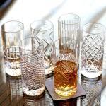 Whiskygläser / Kristallgläser / Longdrinkgläser / JFK Tumbler Highball im 6er Set mundgeblasen und handgeschliffen