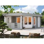Wolff Finnhaus Holz-Gartenhaus Maja 40-B BxT 703 x 299 cm dav. 250 cm Terrasse