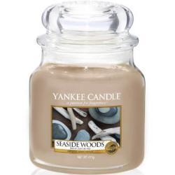 Yankee Candle Aromatische Kerze Medium Seaside Woods 411 g