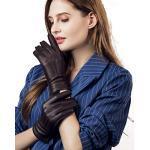 Braune Elegante Damenhandschuhe
