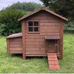 Zoopplier Hühnerstall Hühnerhaus Chickenhouse Nr. 03 Gickelheim mit Eierbox